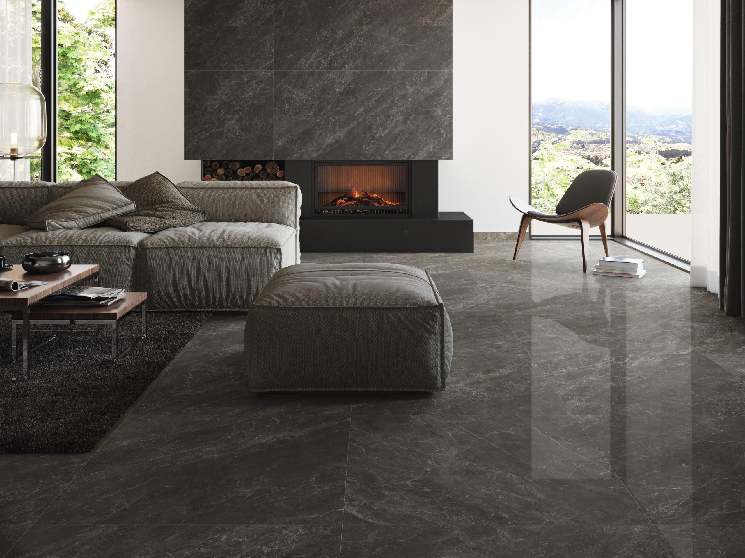 Carrelage Imitation Bois Brillant balmoral imitation marbre brillant 60x60 26€/m2